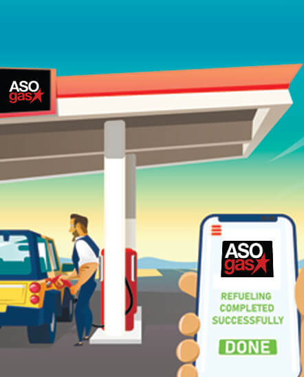 Fill Gas With Your Mobile Phone
