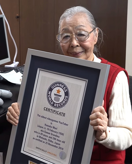 A 90-Year-Old Gamer Just Set A New World Record